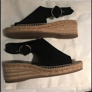 Rag and bone espadrille sandals suede